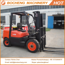 3Ton Diesel Forklift With Forklift Clamp Attachment CPCD30FR