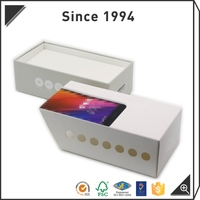 Matte lamination cardboard drawer storage boxes,Empty Rigid drawer packaging slide rigid boxes
