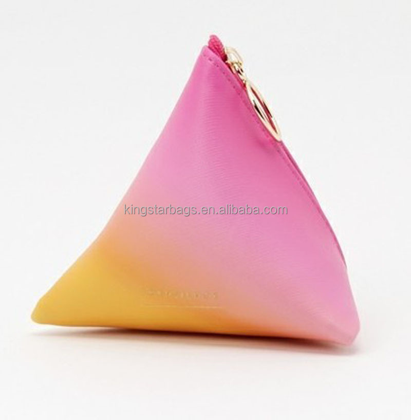 Triangle Shaped Cosmetic Bag