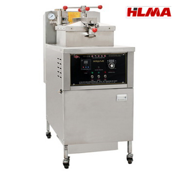 Auto gas fryer / frying machine