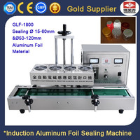 Semi Automatic High Quality Electromagnetic Induction Aluminum Foil Lid Sealing Machine