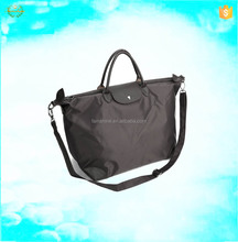 wholesale eco plain polyester long strap tote bag