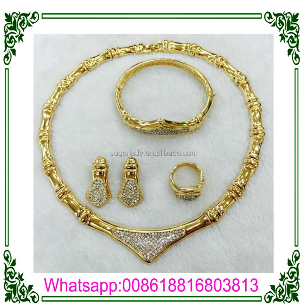 Indian Fashion Gold Jewelry Sets Tous Jewelry Sets Gold Plated