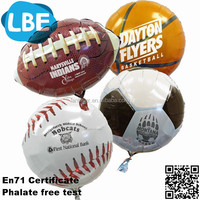 18 inch various kinds of sports balloon