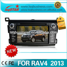 car multimedia audio mp3 cd player adapter video entertainment system for 2013 TOYOTA RAV4 with GPS VCD CD MP3 MP4 USB