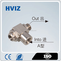 high quality all metal pneumatic control valve /pneumatic fitting/H-GRLA-G1/8-B