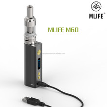 M60 mod electronic cigarette battery with protection of battery transposition,short-circuit and over-temperature