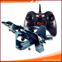 2.4GHZ 4 CH 4 axis series F22 cheap rc model planes with gyro