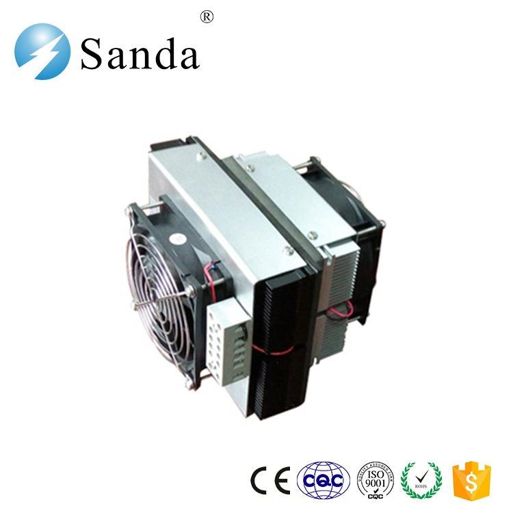20w portable semiconductor room air cooler with small refrigeration units