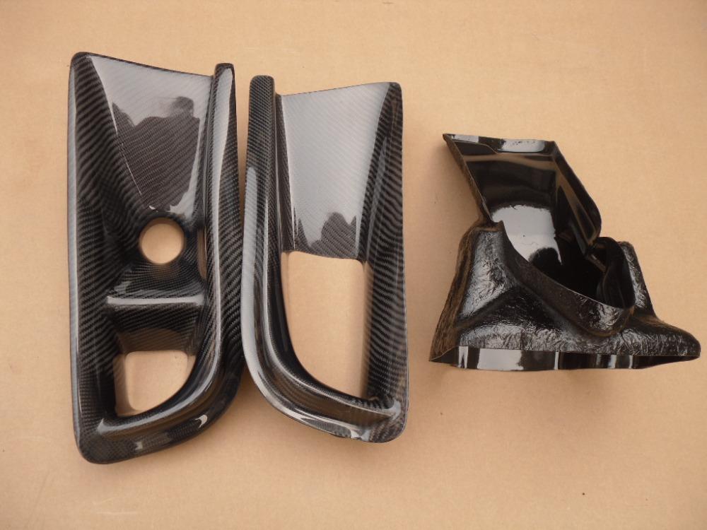 Lancer Evolution 8 Evo 8 Varis style De Guidage D'huile et le Conduit D'air En Fiber De Carbone