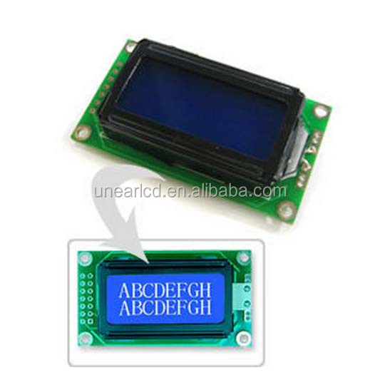 1.8/2.3/3/4/5/6/8/15 Inch Outdoor Waterproof Clock Digits 7 Segment LED Display/lcd module for meters