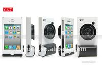 camera shape case for iphone4,for one piece iphone cover