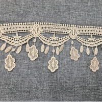 Luxury Lace Fabric High Quality Water Soluble Lace For Curtain Lace
