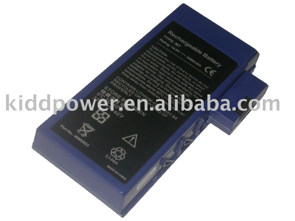 Replacement laptop top battery for M7, M755, M755+, M785, M795, Cybercom, Gericom, LifeTec, Medion series laptop battery
