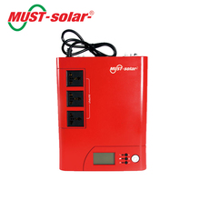 < Must Solar> PV1100 plus series High frequency off grid modified sine wave solar panel inverter 12v 220v