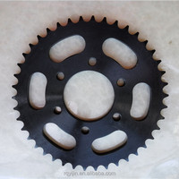 ISO9001 bajaj boxer motorcycle sprocket set