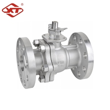 Stainless Steel CF8 Manual Flange Ball Valve