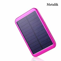 Solar Mobile Phone Charger, 5000mAh Solar Power Bank