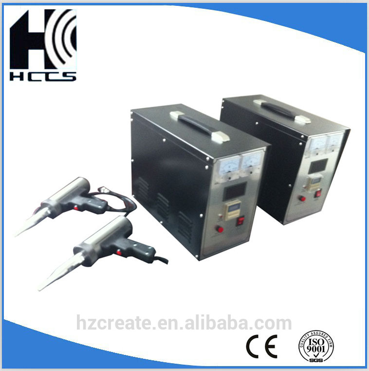 60KHz ultrasonic welding machine for coffee nylon filter ABS welding
