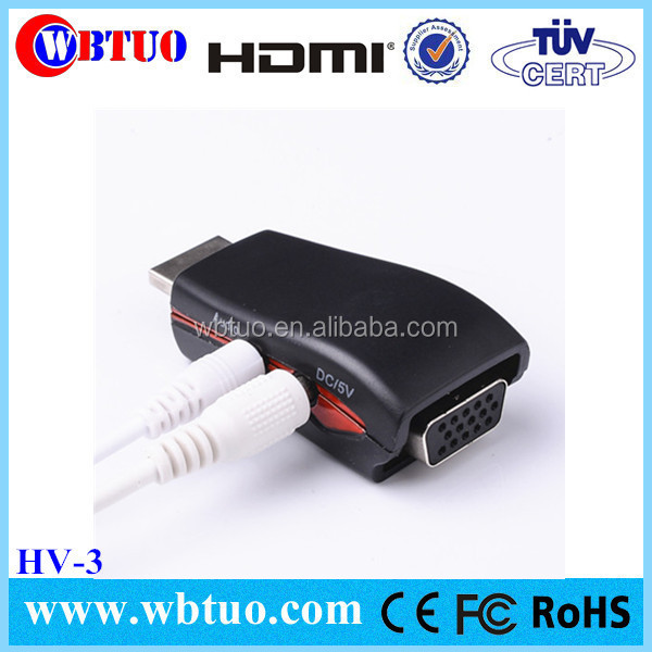 Hot selling hdmi vga rca audio support