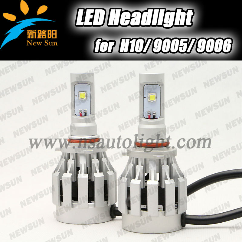 40w 4000lm H10 HB3 HB4 9145 9005 9006 Auto Led Headlight/car Led Headlamp For Mazda For Discovery For Vw For Touarge