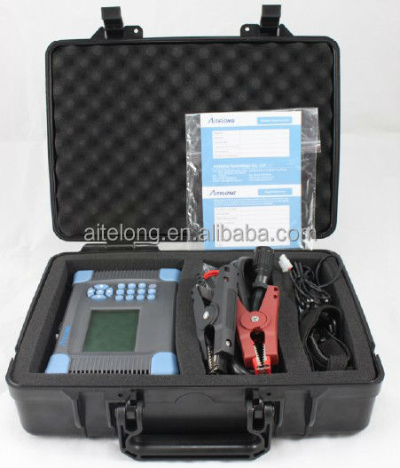 3 seconds finished test lead acid battery impedance analyzer