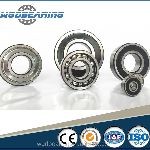 Mechanical Parts Deep groove ball bearings 6200 with size 10*30*9mm