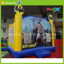 Cheap commerical inflatable bouncer cool spiderman inflatable bounce house