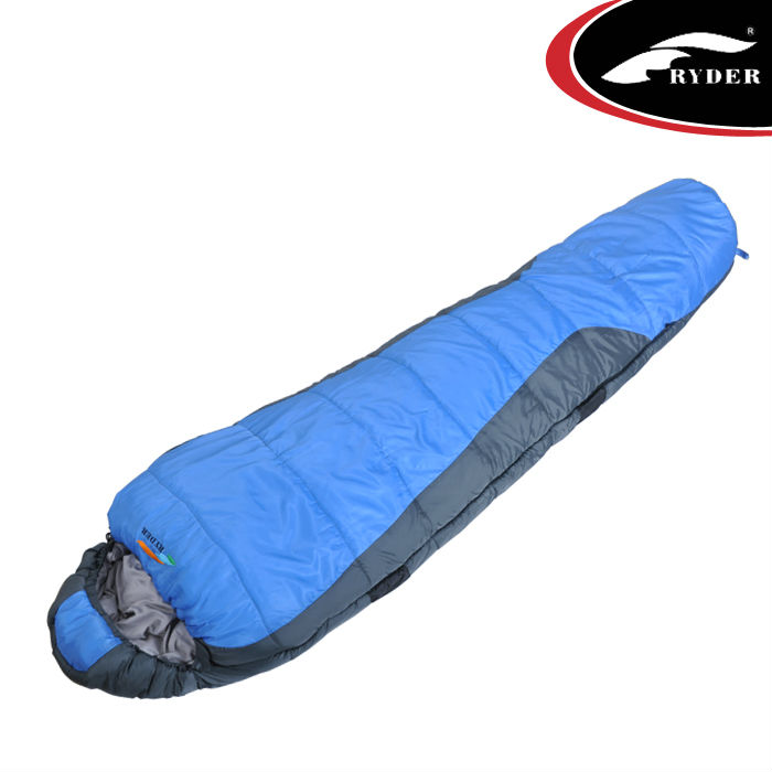 Mummy Two Layers Camping Travel Sleeping Bag Manufacturer