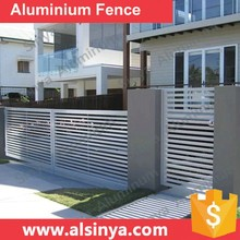 Excellent Quality Aluminum Slat Fencing for Courtyard Guarding