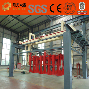 AAC concrete block machine equipment for the production autoclaved aerated concrete