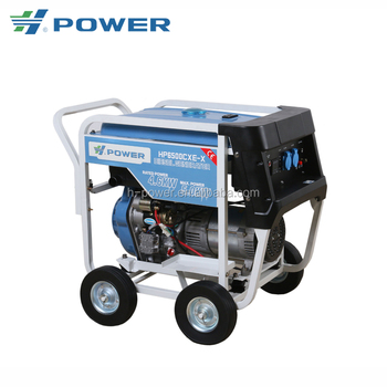 5kw small size portable diesel generator price HP-6500 CX(E)