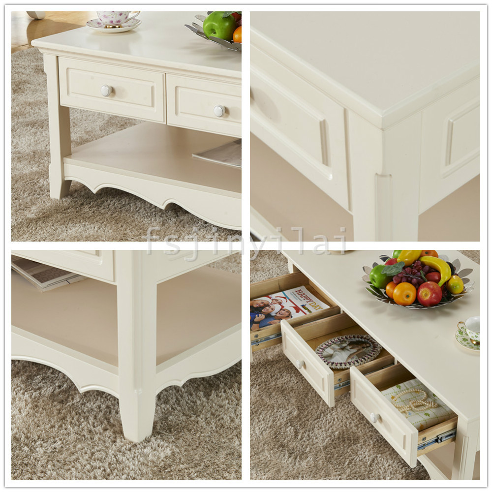 Lm893 moderne witte thee tafel rechthoek thee tafel hout thee ...