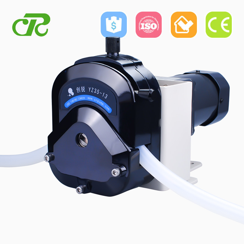 Industrial And Tubing And High Precision Dosing Peristaltic Pump With Silicone Hose For Disinfection Equipment