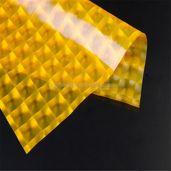 Eco friendly PEVA film 3D effect for making table cloth