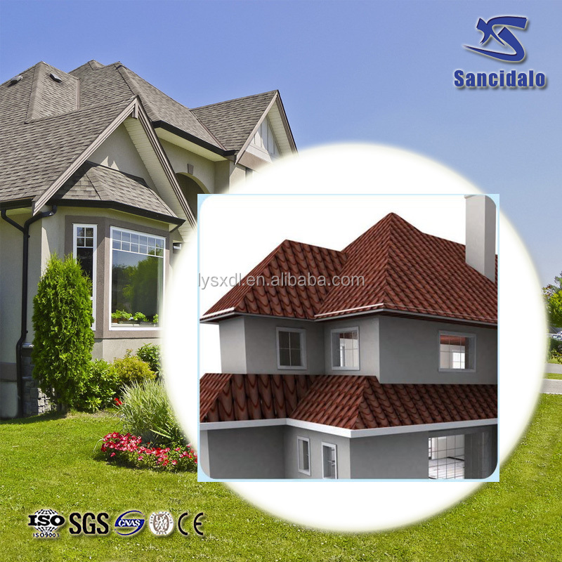 China manufacture ISO certificate weatherproof roof tile