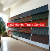 Best Stone Roof Tile / Stone Coated Metal Roof Tile