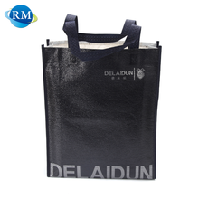 Trading Company Black Color Tote Laminated Non Woven Bag