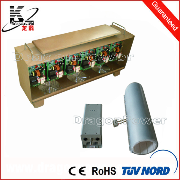 Professional designed induction heating for plastic extrusion