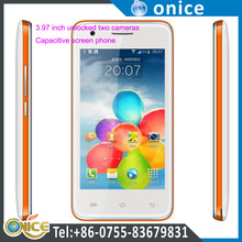 Unlocked cheap gsm dual sim two cameras mobile phone P1 with 4 inch Capacitive touch screen for nokia battery