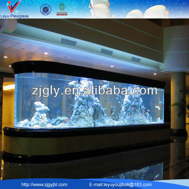 Various Shape Acrylic Aquarium Fish Tank