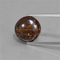 4ct Multicolor Boulder Opal 10.5mm Round Cabochon Manufactures Suppliers In India Natural Semi Precious 100% Genuine Gemstones