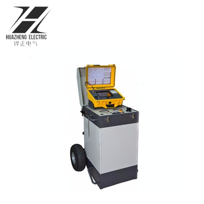 Underground cable fault locator /cable route tester cable identification system