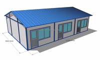 lightweight steel frame living 20ft container house prefabricated steel frame