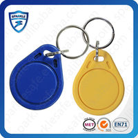hf/lf smart crystal card/rfid key fob epoxy with different chip