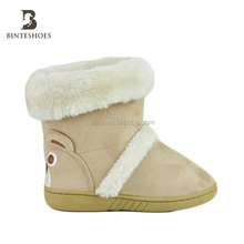 Foreign trade children Cartoon baby shoes warm casual snow boots shoes for kids