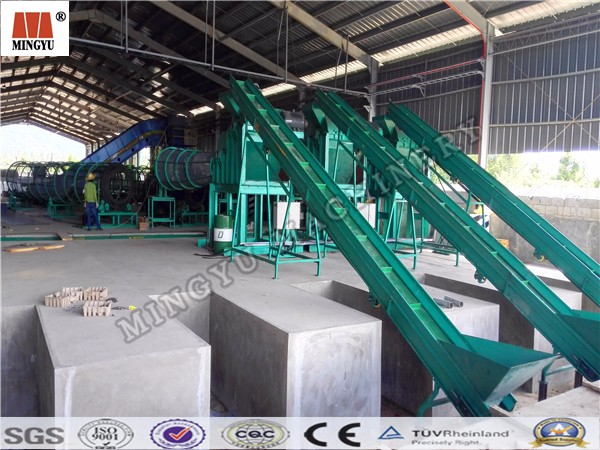 coconut oil palm fiber making machine/ Coconut skin peeling machine
