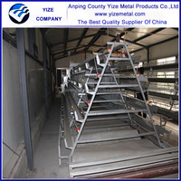 china manufacturer Multi-tier Easy Clean Chicken Cages