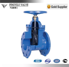 Ductile iron soft sealing 4inch water gate valve china supplier