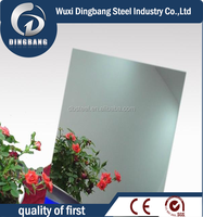 China golden supplier 316 mirror finished/8K stainless steel sheet